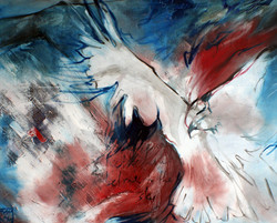 """""""a falcon, a storm, or a song""""SOLD"""