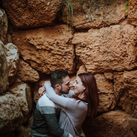 Lucia & Gabriele: Adventure Engagement in Alghero, Sardinia Wedding Photographer