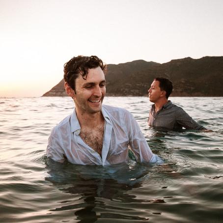 Porto Ferro beach Same-Sex couple photoshoot, Sardinia Wedding Photographer
