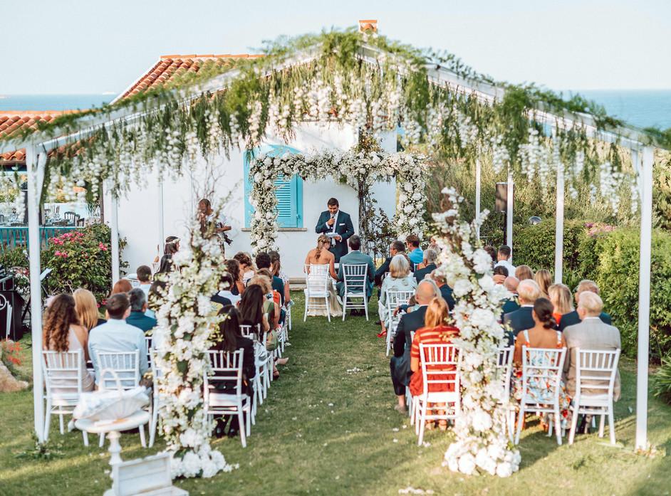 Luxury Wedding in Porto Rotondo, Costa Smeralda Sardinia Wedding Photographer and Exclusive Wedding