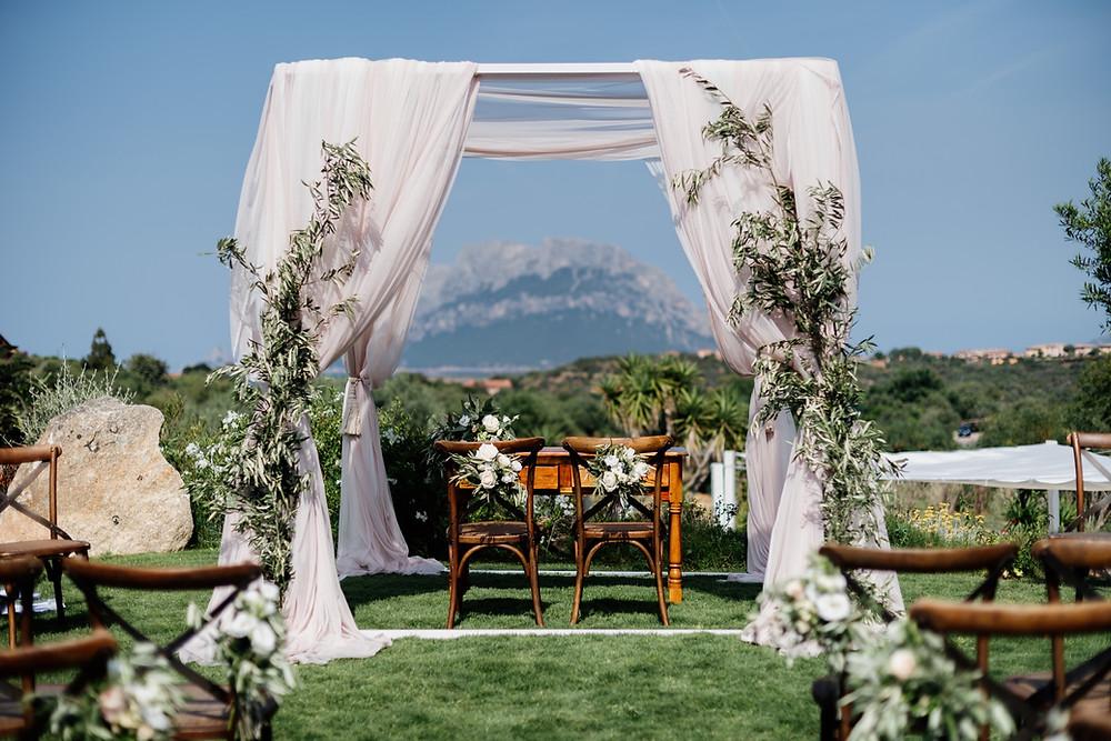 Sardinia Wedding Planner Design Exclusive Photographer Decorations Ceremony Tavolara
