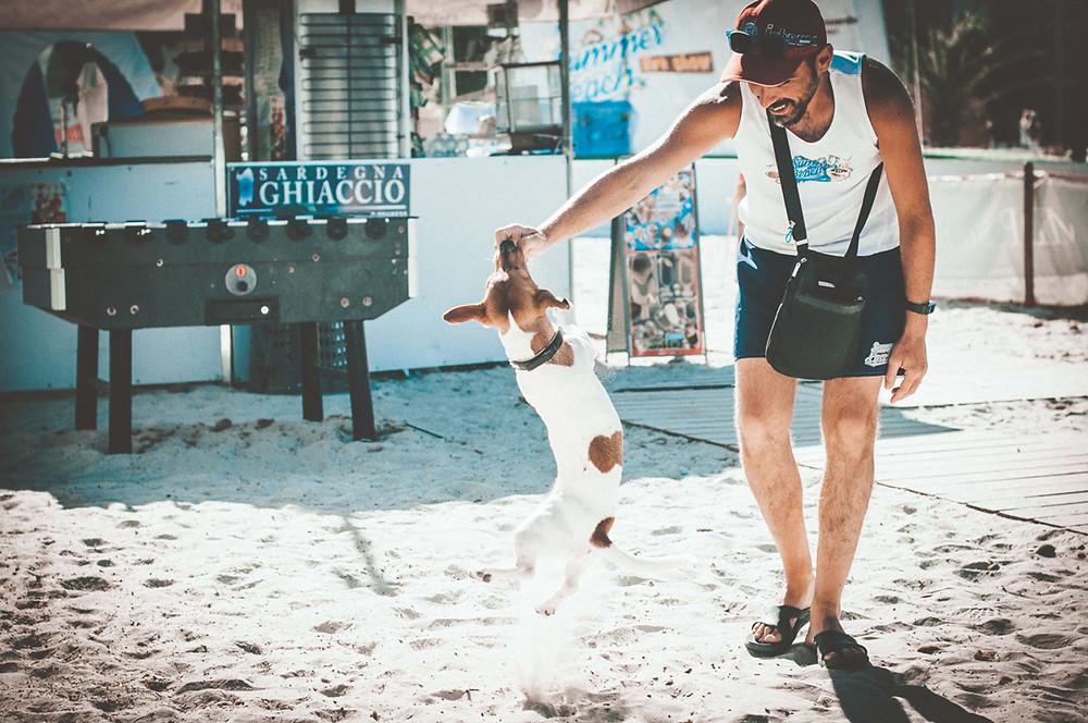 Tony's Barber Shop: Summer Beach Alghero, Sardinia Portrait Photographer