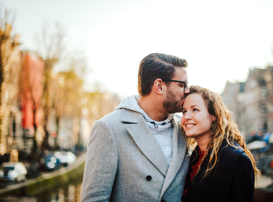 Couple photoshoot in Amsterdam, Wedding Photographer in the Netherlands