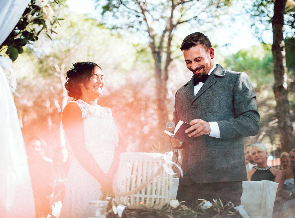 German Intimate Wedding in Budoni with a Lovely Family, Sardinia Wedding Photographer