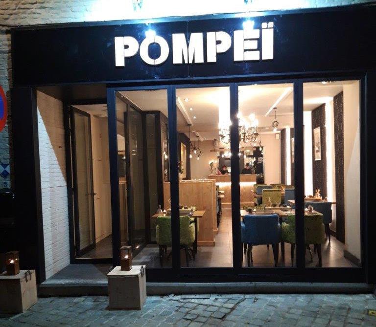 Entree Pizzeria Pompei