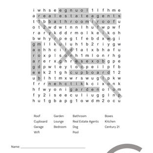 Word Search 1 (answers)