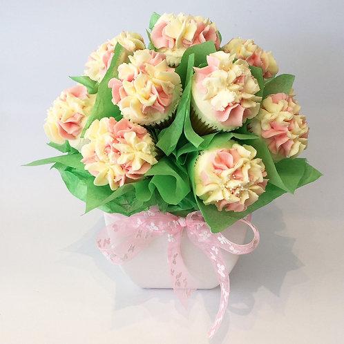 Mini Hydrangea Cupcake Bouquet (1Dz)