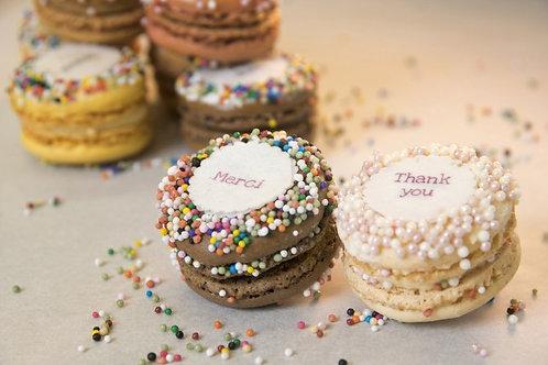 Thank You Macarons (1Dz)