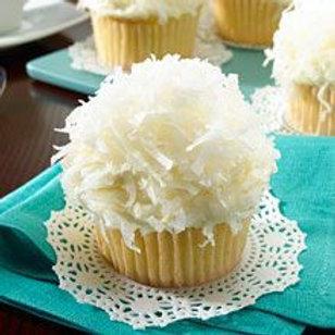 Vanilla Coconut Cupcakes (1dz)