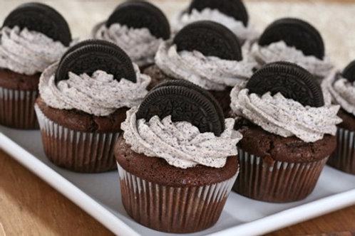 Oreo Flo Cupcakes (1dz)