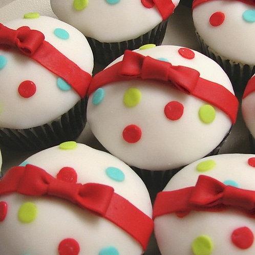 Christmas Gift Cupcakes