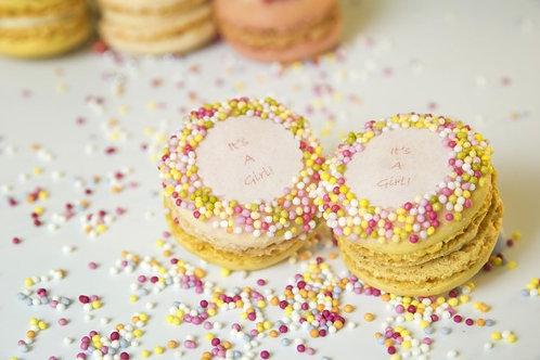 Its A Girl Macarons (1Dz)