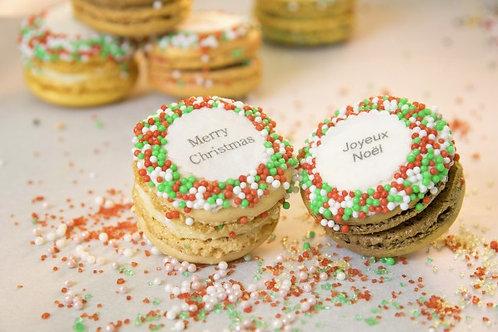 Christmas Macarons (1Dz)