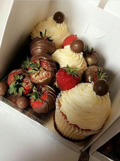 Strawberry Cupcake Surprise