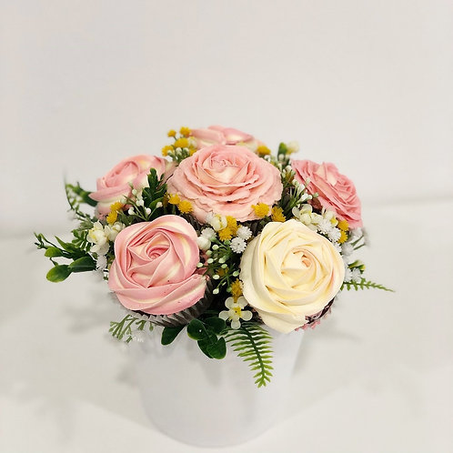 Rose Cupcake Bouquet (1/2 Dozen)