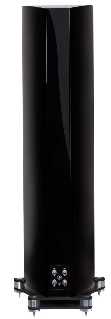 F702-high-gloss-black-rear-small-floorst