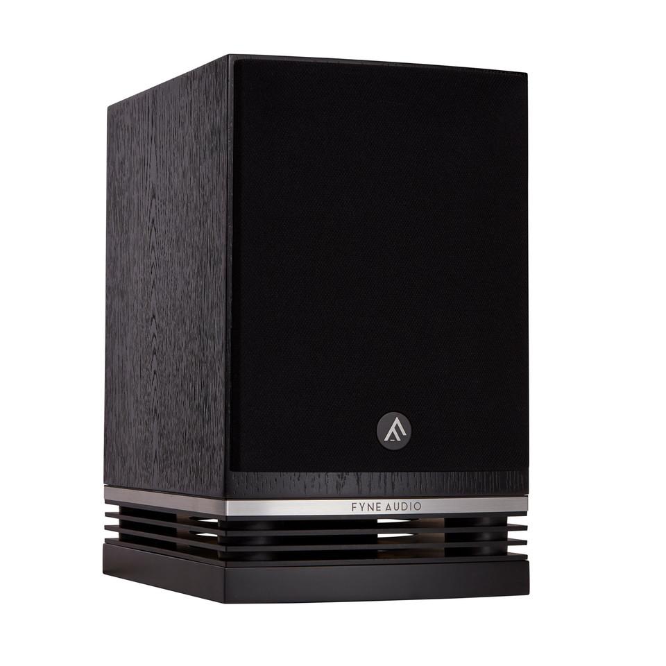 F500-Grille-on-3Q-Black-bookshelf.jpg