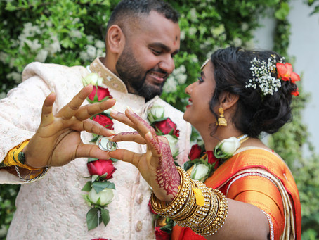 With weddings allowed as the restrictions ease, we had the pleasure to cover Raj & Sangree's wedding
