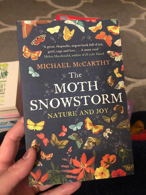 The moth snowstorm: Nature & joy