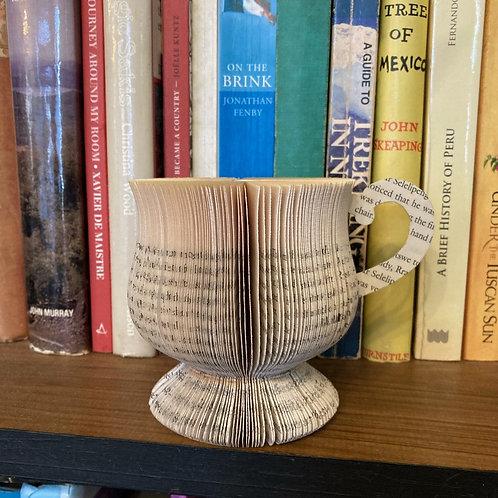 Coffee mug book art