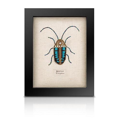 Beaded scarab beetle