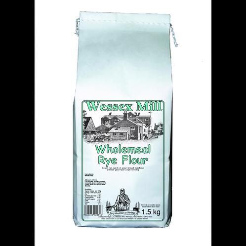 Wholemeal rye flour (100g)
