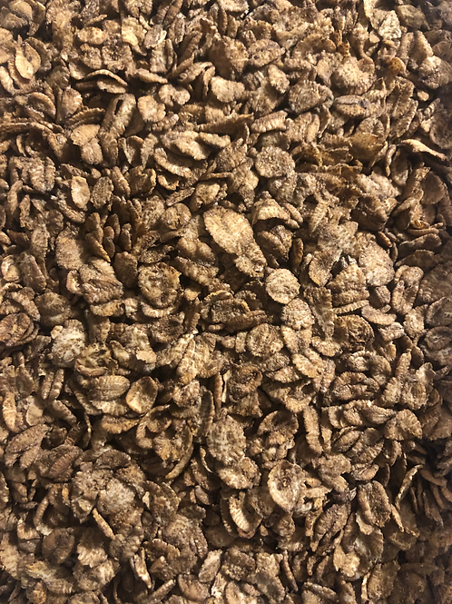 Toasted malted wheat flakes (100g)