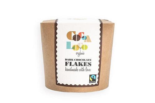 Dark chocolate 55% drinking flakes (200g)