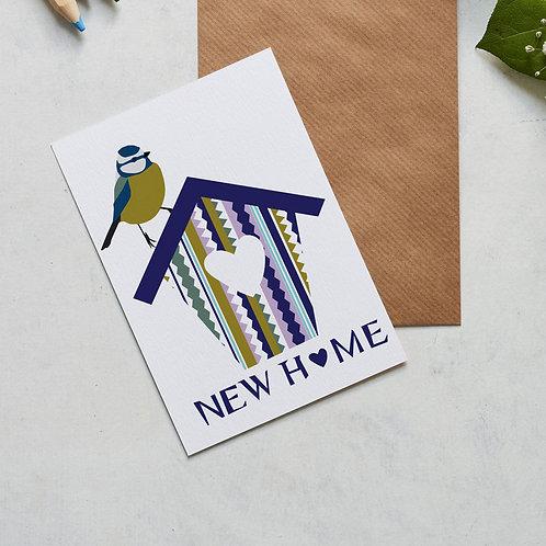 New home bird card