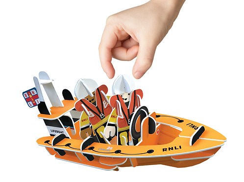RNLI inshore lifeboat playset
