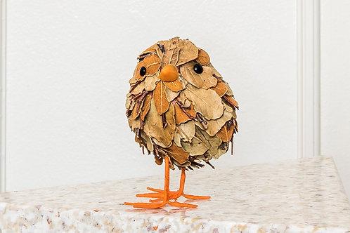 Multi coloured leaf chick