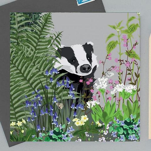 Watlington badger card