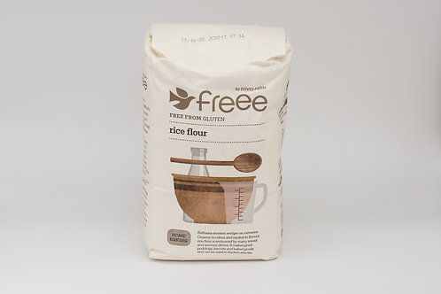 Gluten free organic rice flour (pre-packed 1kg)