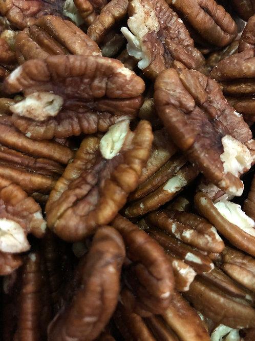Organic pecan halves (100g)
