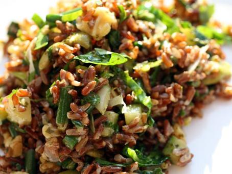 Deb's red rice salad