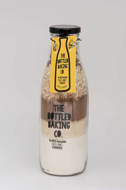 Bottled Baking Company un-bee-lievable honey & chocolate cookies