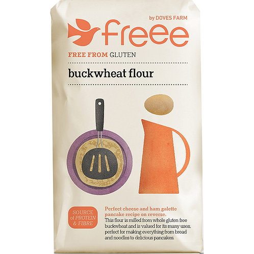 Gluten free buckwheat flour (pre-packed 1kg)