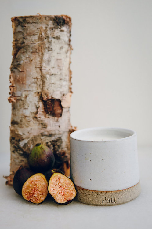 Fig Pott refillable candle