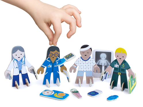 Checkup time character pack