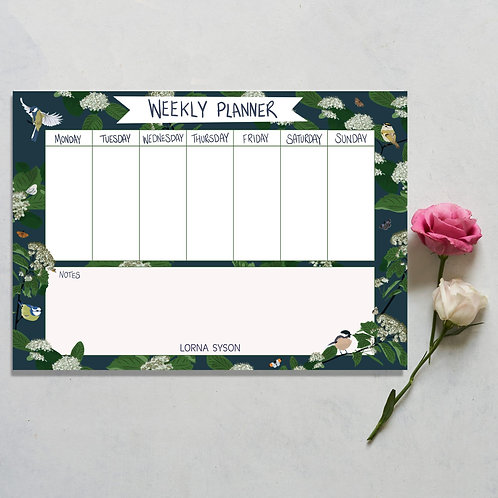Weekly planner by Lorna Syson