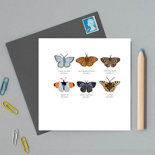 Watlington butterfly card