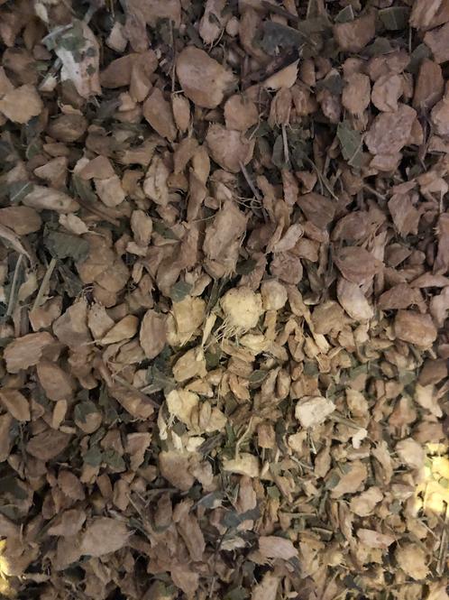 Organic ginger & lemon myrtle tea (50g)