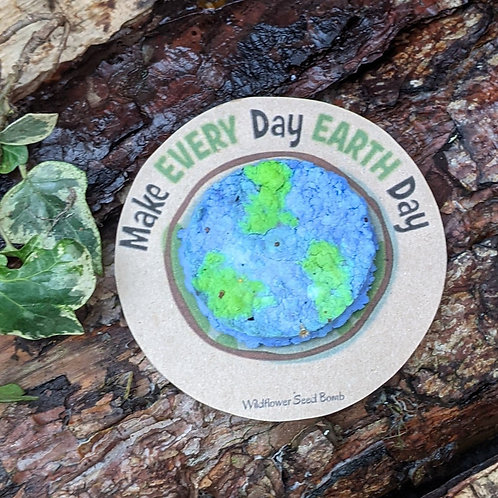 Earth Day seed bomb