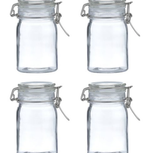 Kilner set of 4 clip top jars