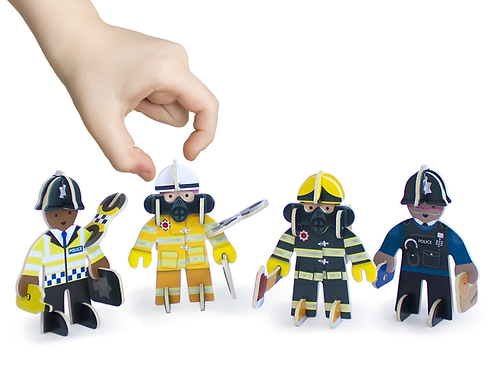 Rescue team character pack