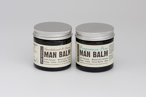 Organic man balm - sandalwood & orange