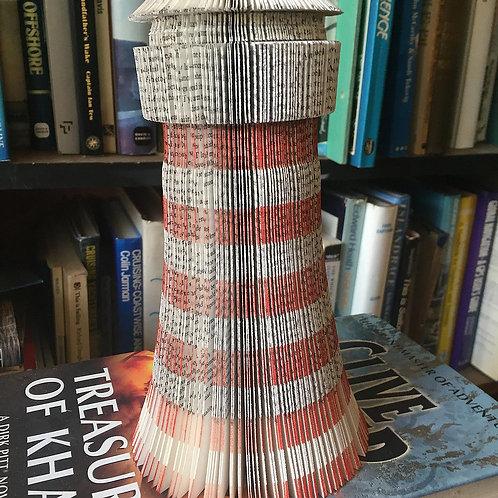 Lighthouse book art