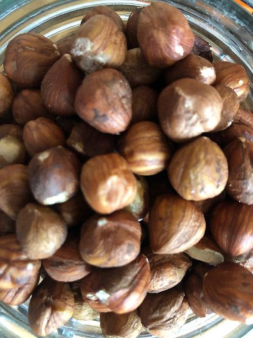 Organic hazelnuts (100g)