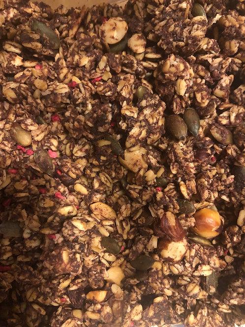 Granola - cacao & raspberry (100g)