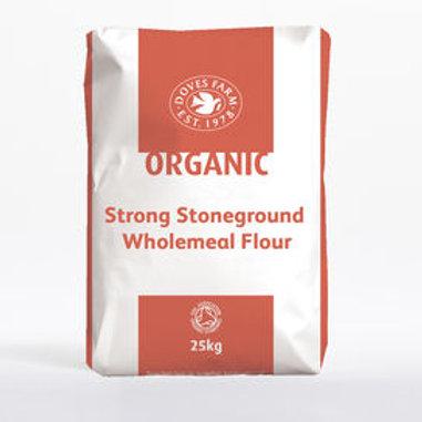Organic strong wholemeal bread flour (100g)